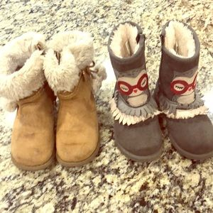 Other - Bundle of girls size 10 boots